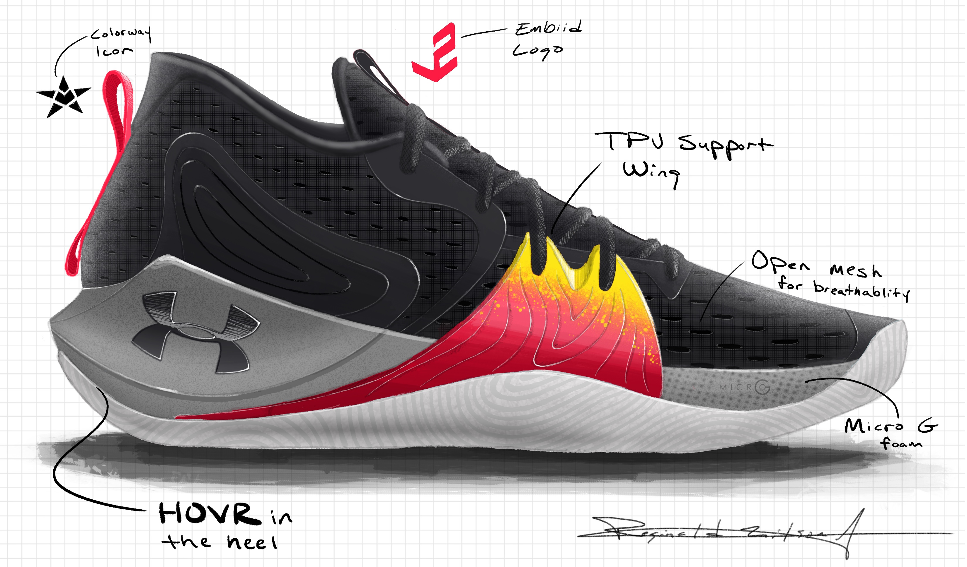 UA Embiid One Official Images and