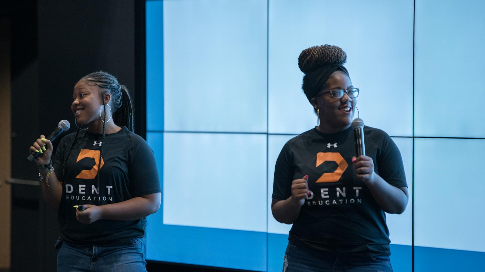 Jade and Aaliyah present Feel Good, Do Good, an initiative to destigmatize mental health in Baltimore public schools.