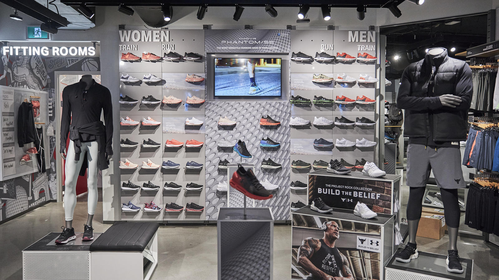 under armour stores canada