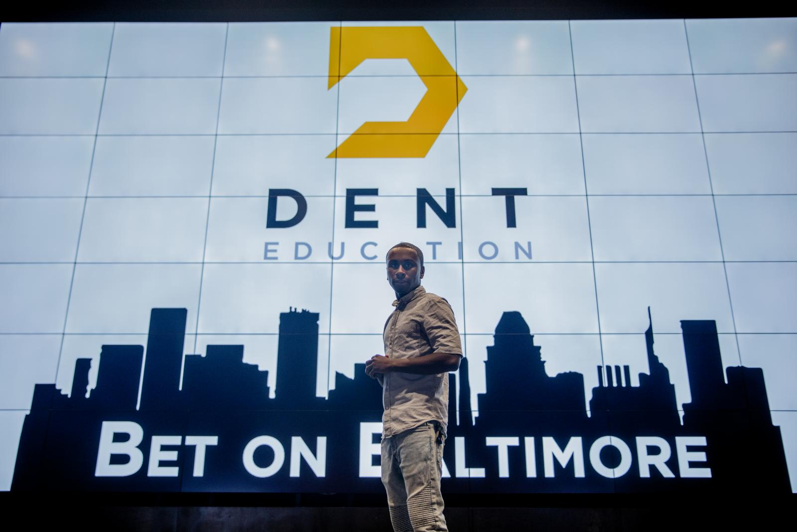 "Taz Cotton's success is a result of the ""Bet on Baltimore"" program led by Under Armour and Baltimore City partners"