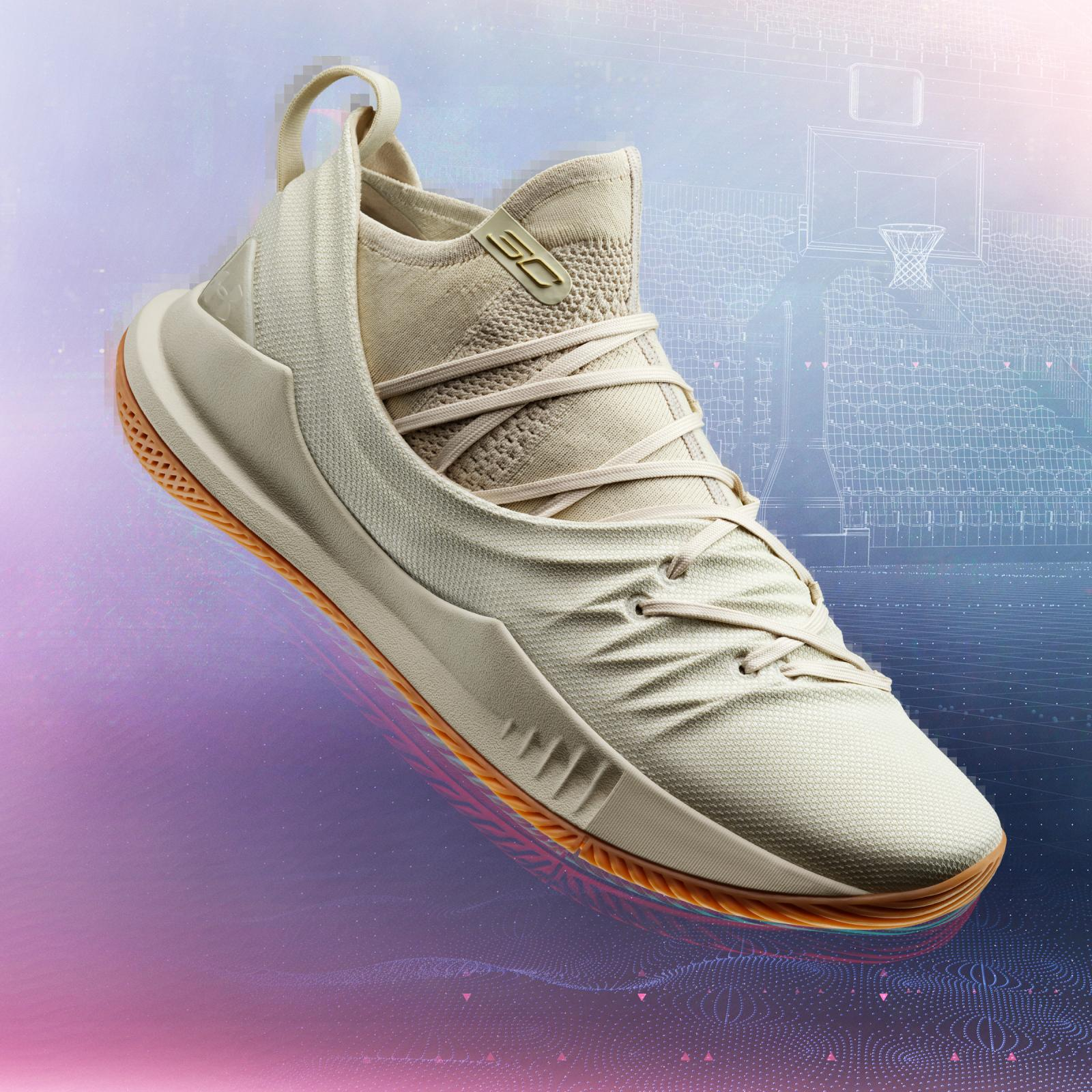 The Curry 5 tan colorway will be available in limited pairs around the globe on Sept. 7