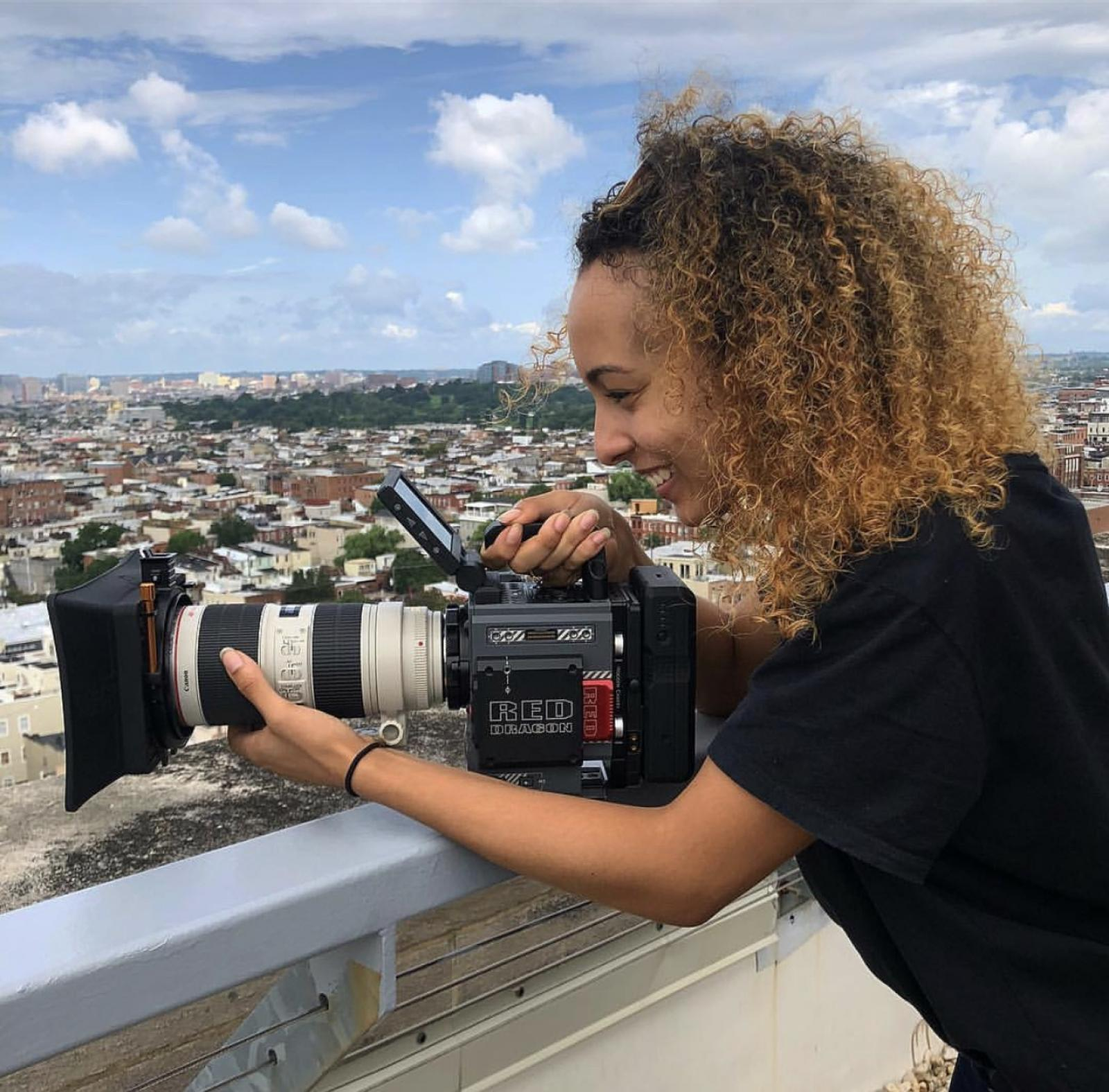 Behind the Scenes with Destiny Brown, Wide Angle Youth Media