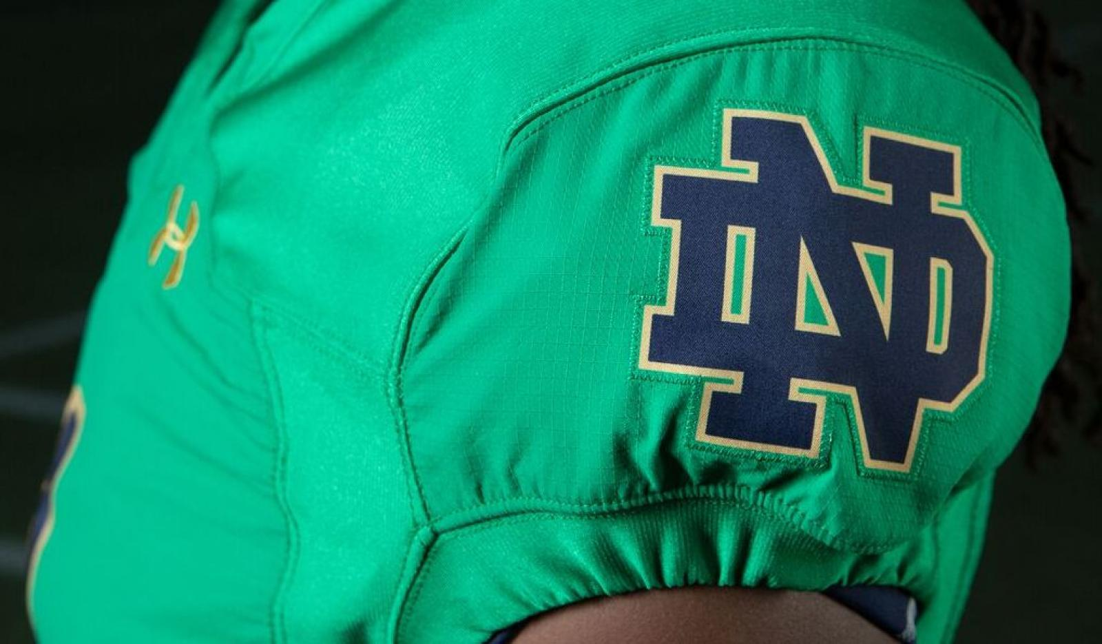 4e4a2e8387b As they get closer to the College Football Playoff with each win, it's time  for Notre Dame to make the competition green with envy.