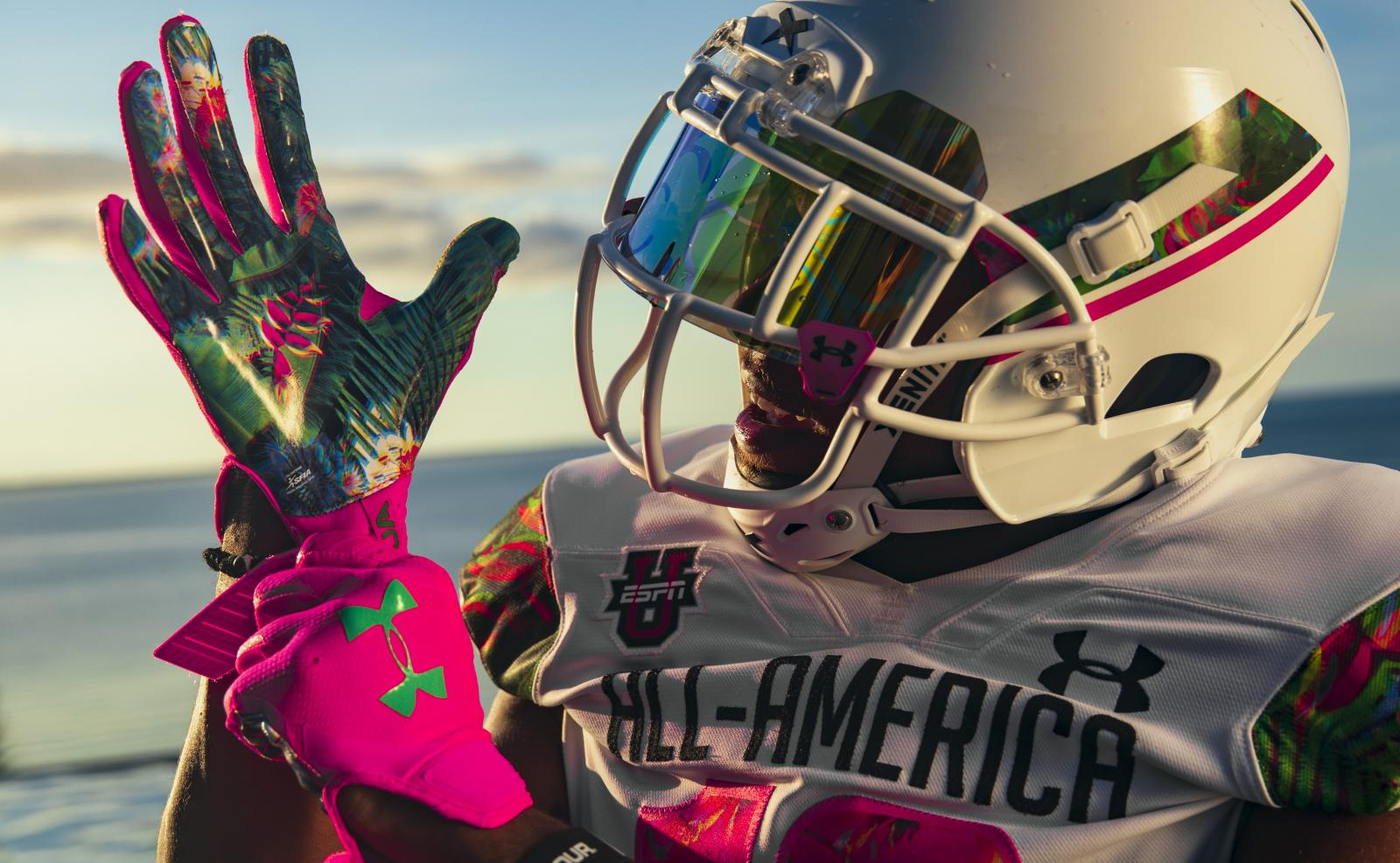 info for 1e90c 60823 This multi-level floral story we are bringing to the Under Armour All-America  Game this year is one of the most special, cohesive uniform stories we ve  ...