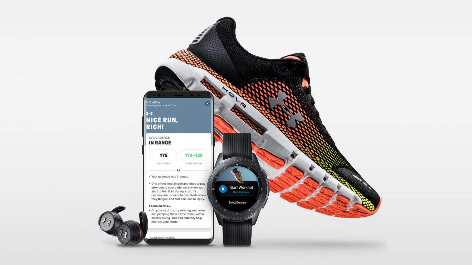 935a3f42 UA Partners with JBL and Samsung to Create Digital Runner Ecosystem ...