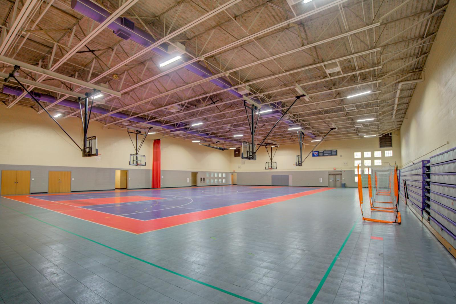 Carole Hoefener Courts Before Refurbishment
