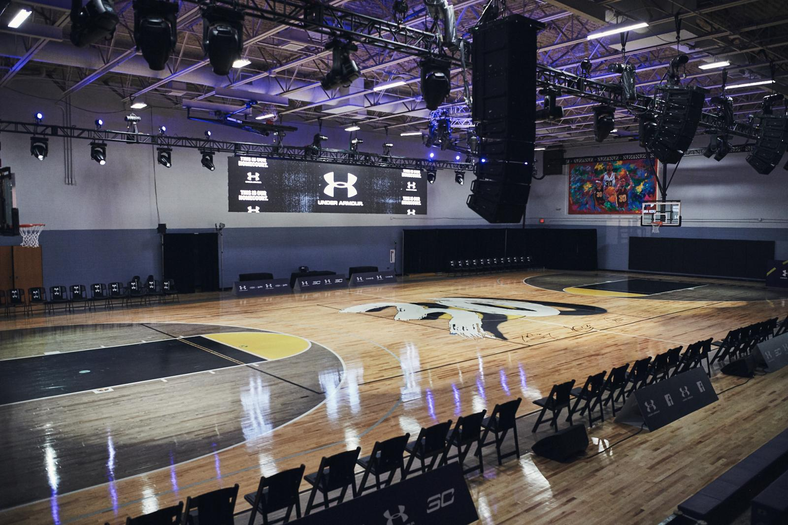 Carole Hoefener Courts After Refurbishment
