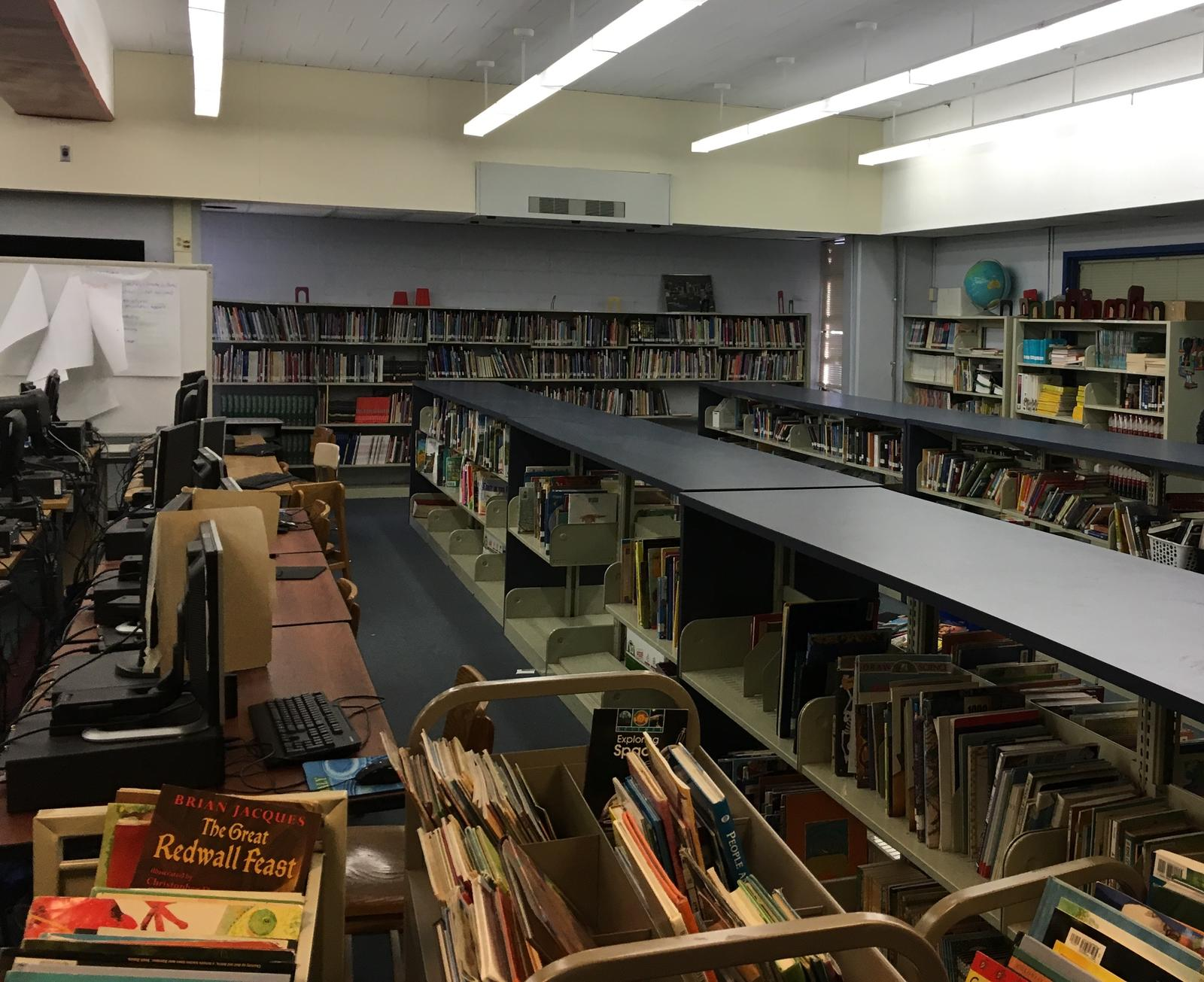 Library Before