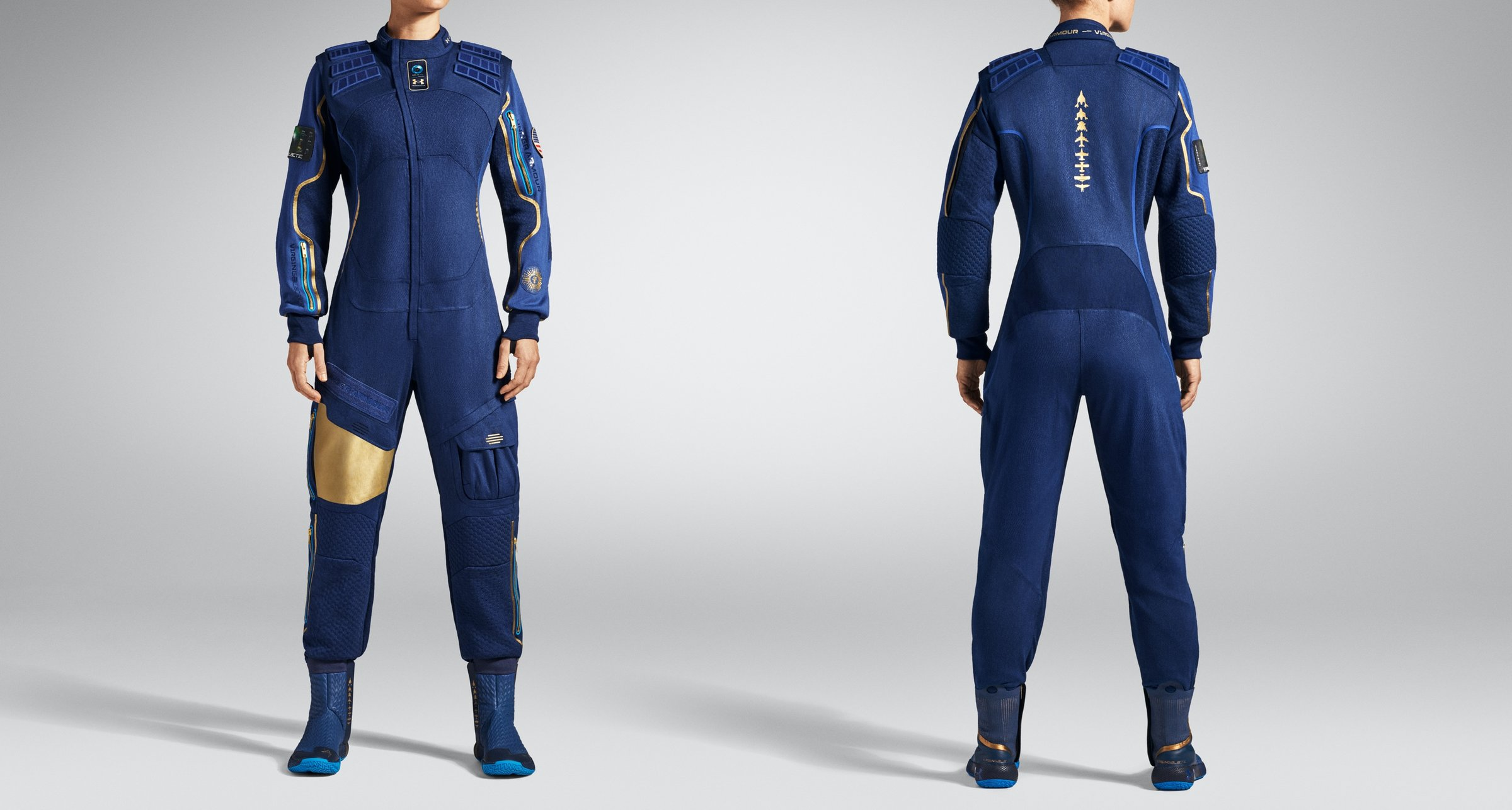 under armour is going to space