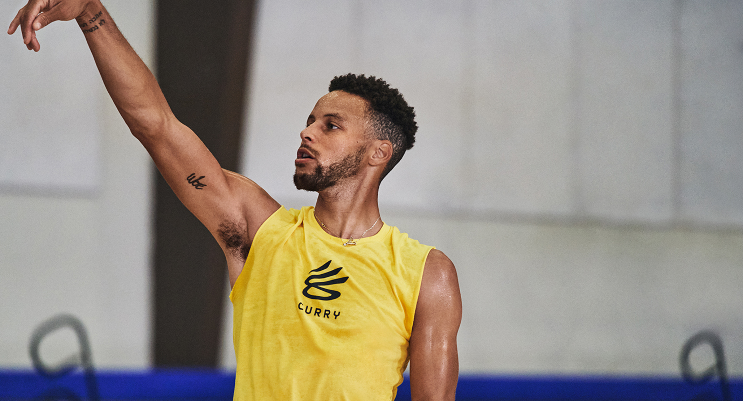 Stephen Curry Launches UA Curry Brand