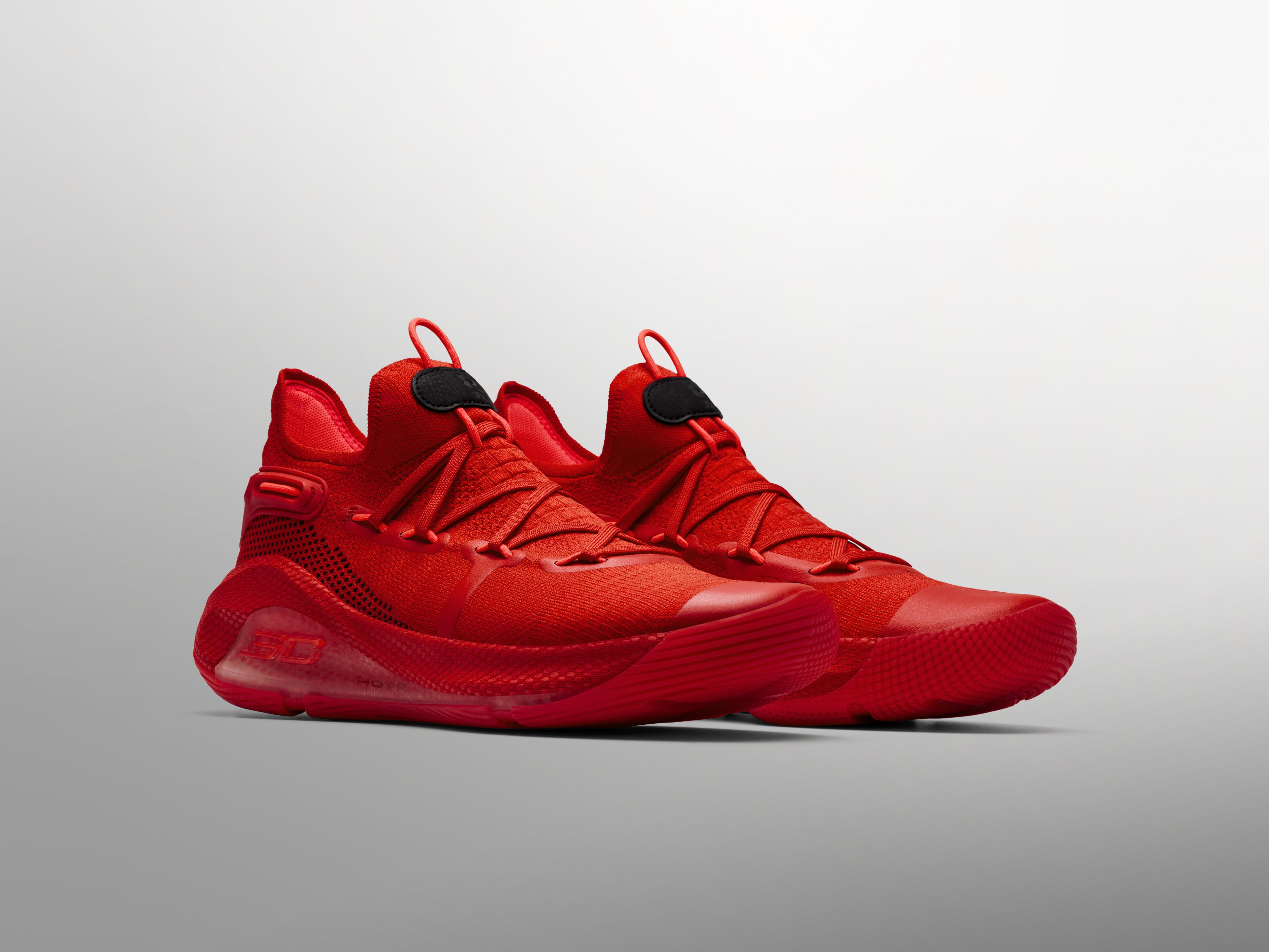 Curry 6 Heart of the Town colorway